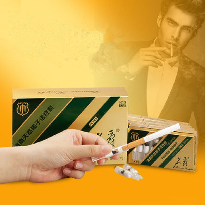 One-off cigarette filter net activated carbon triple discarding type Japanese health aids quitting tobacco cigarette gift essent