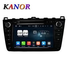 KANOR Octa Core Android 6.0 2G Car DVD GPS For Mazda 6 Ruiyi Ultra 2008 2009 2010 2011 2012 Autoradio Multimedia Audio Stereo