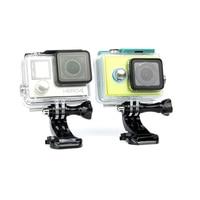 SnowHu j-крюк Пряжка поверхностное крепление для Gopro аксессуары 1 шт. для Go Pro Hero 8 7 6 5 4 Xiaomi Yi SJCAM Экшн-камера GP20 2
