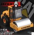 Solo compactador de tierra KAIDIWEI 620018 1:50 CAT modelo de camión de aleación juguetes vehículos de construcción niños pavimentadora city series envío gratis