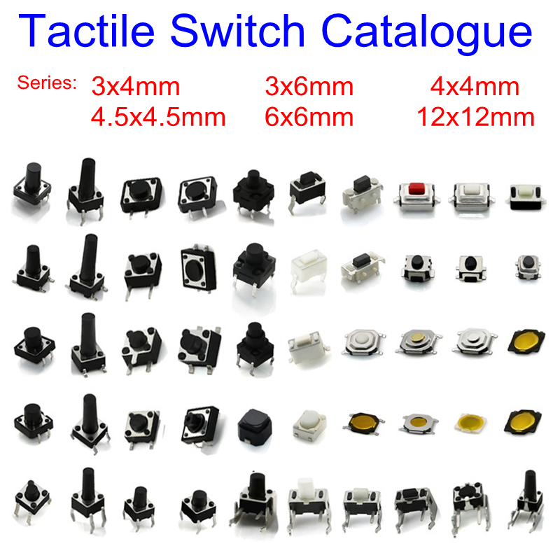 PHISCALE Tactile Switch Catalogue