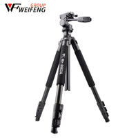 Weifeng WF6663A Tripods Three Magnesium Alloy Tripod Travel Professional Portable Monopod Tripod For Camera
