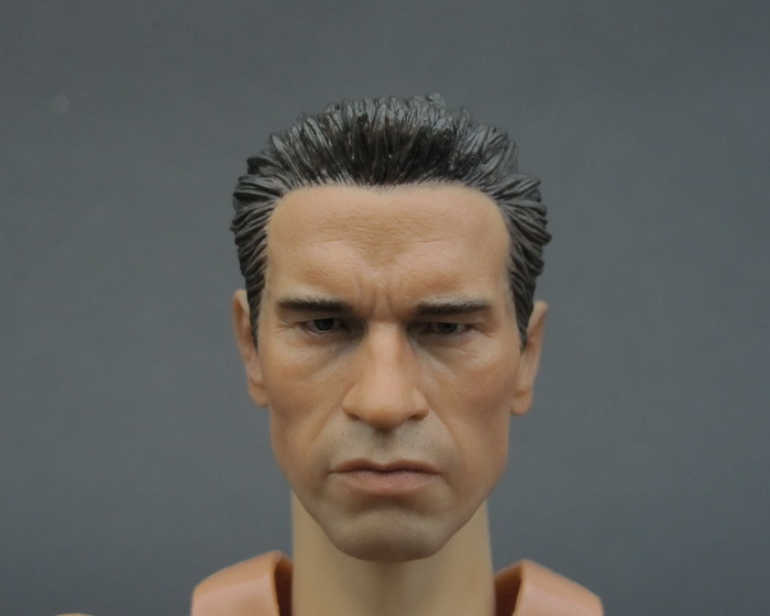 "1/6 scale figure doll head shape for 12"" action figure"