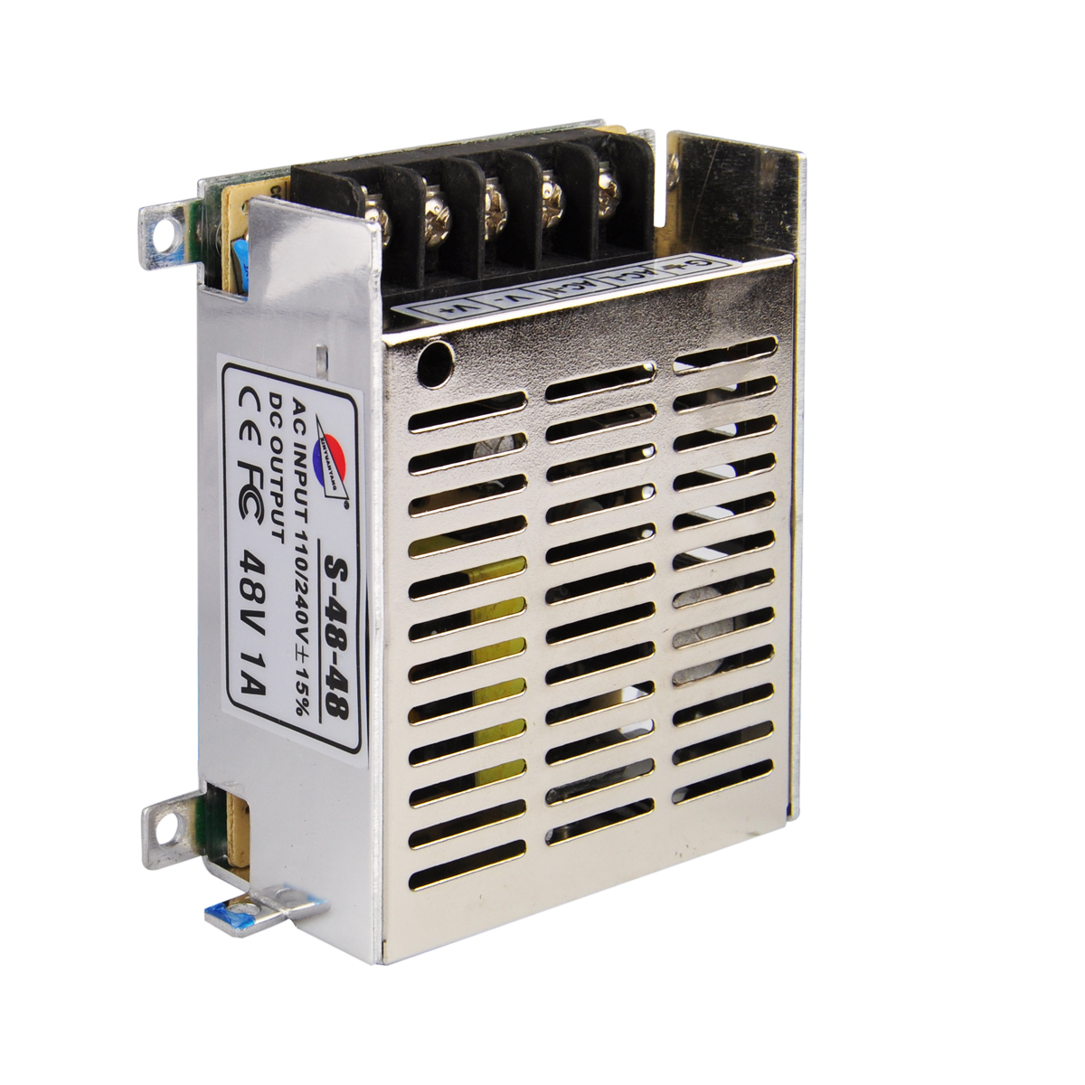 ФОТО 48V 1A Power Supply Adapter Switching Driver Adapter Transformer for LED Strip Light