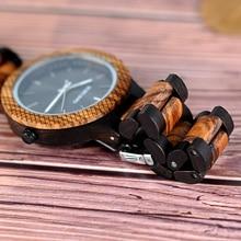 BOBO BIRD V-D30-1 Wood Watches Men Quartz Luxury Business Clock New Arrivals 2018