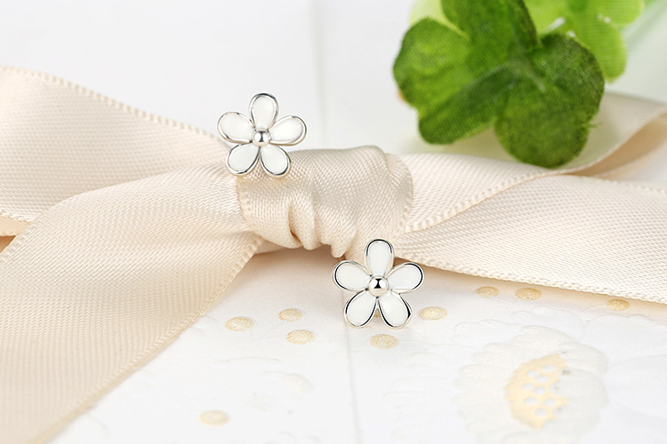 PE Lola Fashion Pop Jewelry Korean Boys Album Silver Stud Earrings For Women Vintage Long Men Earrings Geometric