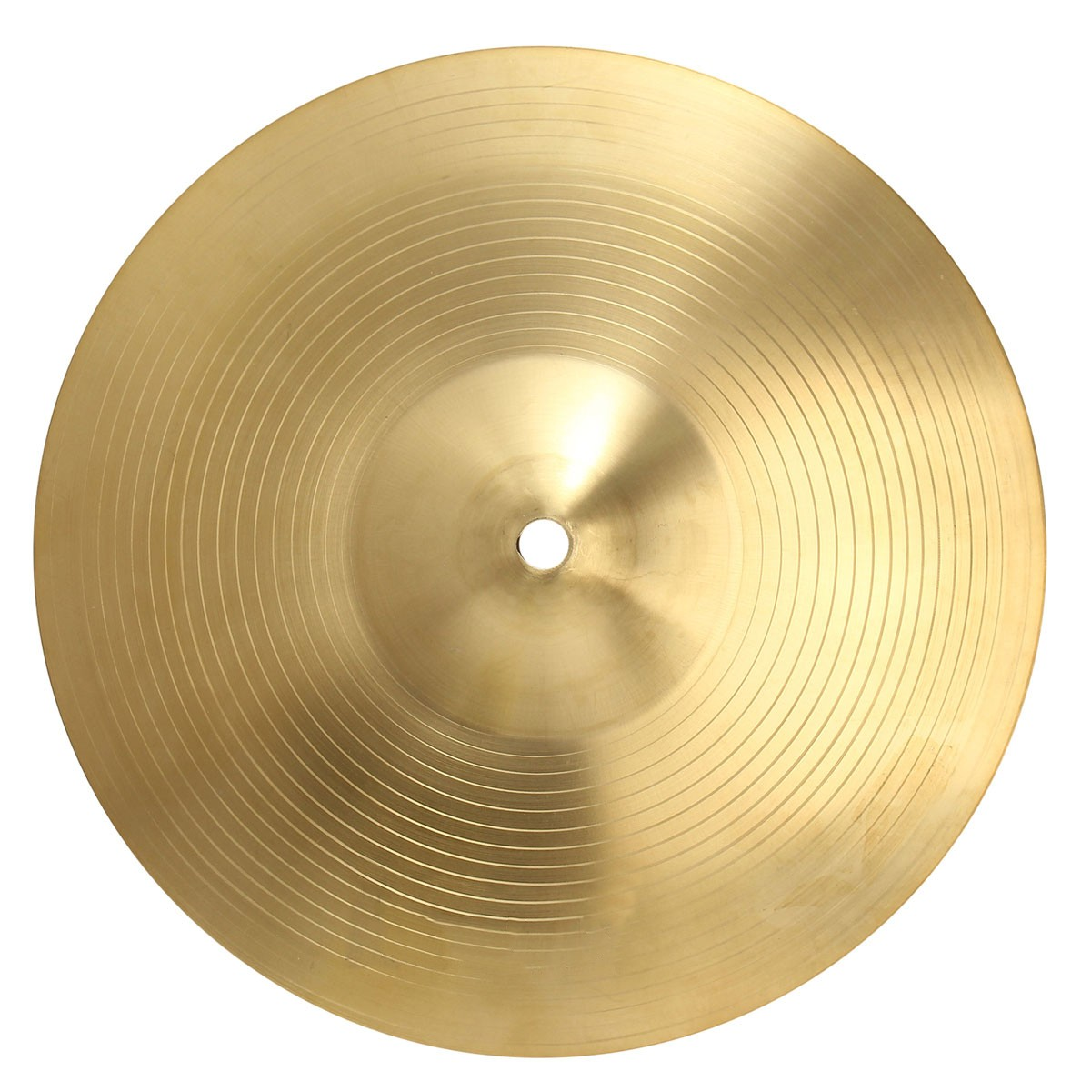 16 Crash Cymbal Brass Copper Hand Cymbals Gong for Band Rhythm Percussion Musical Instrument