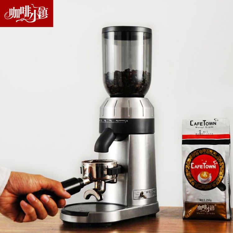 Welhome ZD-15 шлифовальная машина электрическая итальянская кофемолка Бытовая и коммерческая Автоматическая шлифовальная мельница