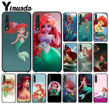 Yinuoda Princess Ariel Little Mermaid snow Phone Case for Huawei P10 plus 20 pro P20 lite mate9 10 honor view10