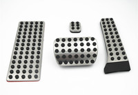 Car Accessories For Mercedes Benz AMG C E S GLK SLK CLS SL Class W204 W211 W212 W210 AT Brake Pedal Pedale Plates Gear