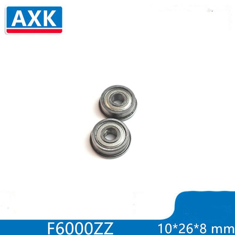 Flange Bushing Ball Bearings F6000ZZ 10*26*8 Mm