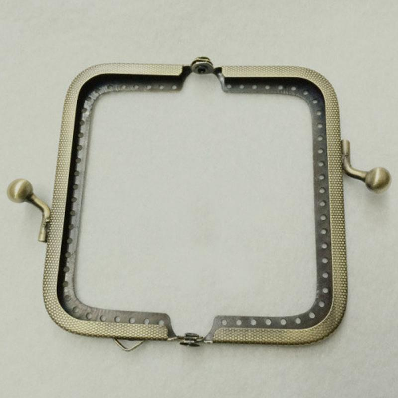 Metal Purse Frame Kiss Clasp Arch For Coin Purse Bag Accessories DIY Tool Bronze 8.5cm Bag Accessory