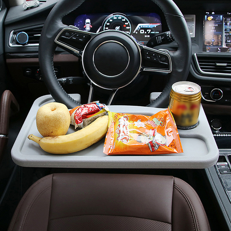 Universal Car Laptop Stand Notebook Desk Steering Wheel Tray Table Shelves Food Drink Holder Mounts Auto Interior Accessories