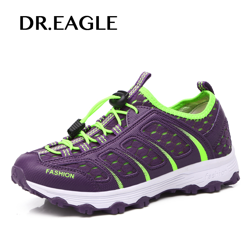 DR.EAGLE trekking shoe breathable hiking mountain sneakers hiking shoes climbing shoes women tactical boots