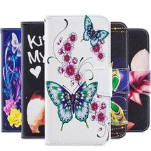 For LG G7 ThinQ Stylo 4 Stylo4 K7 K8 K10 2017 2018 G3 Cute Cover Painted Panda Bamboo Eagle Luxury Wallet Card Pocket Case P07Z