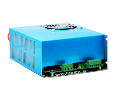 online shop 110 220vac input terminal array wiring connection 60w 110 220vac input terminal array wiring connection 60w co2 laser power supply unit 60w laser tube driver on laser carving machine
