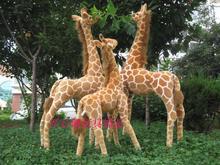 new simulation plush giraffe toy creative lovely giraffe doll birthday gift about 96cm