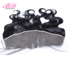 8A Brazilian Lace Frontal Closure with Baby Hair 13×4 Body Wave Human Hair Ear to Ear Full Frontal Lace Closure BD Hair