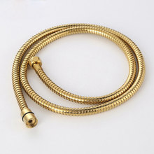 New Stainless Steel 150CM Gold Hand Held Shower Head Hose11-013