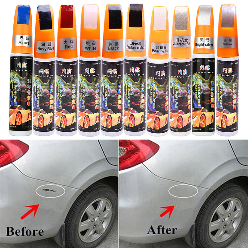 1pc Car Touch Up Scratch Remover Repair Paint Pen Clear Polish Painting Maintenance Applicator Tool Paint Care Car Accessories