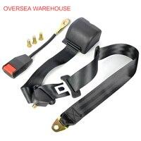 Universal 3 Point Car Seat Belt Auto Webbing Buckle Seatbelt 3 2m Retractable Extension Car Safety