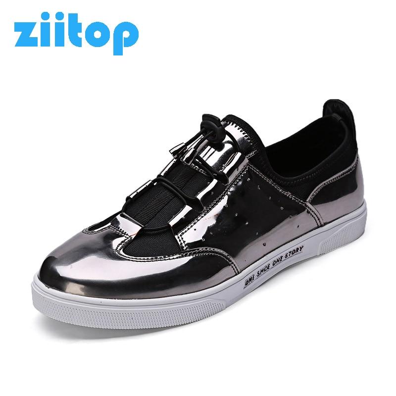Prix pour Ziitop Hommes Planche À Roulettes Chaussures Hommes Sneakers Chaussures Hommes Respirant Chaussures de Sport Légères Étoiles Jogging Marche Chaussures zapatos hombre