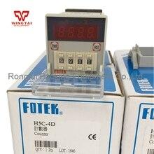 Taiwan Original Fotek  H5C-4D Counter Meter taiwan intelligent temperature controller fotek mt72 r