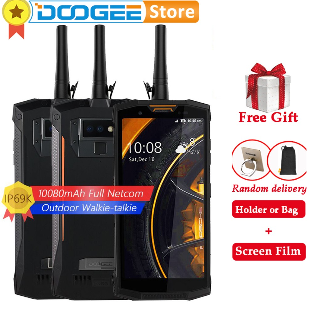"""Doogee S80 lite 4GB 64G IP68 10080mAh Cell Phone 5.99"""" MT6763 Octa Core 13MP Wireless Charger OTG Android NFC Unlocked Phone-in Cellphones from Cellphones & Telecommunications    1"""