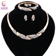2 вида цветов Ювелирные наборы Позолоченное серебряное женское