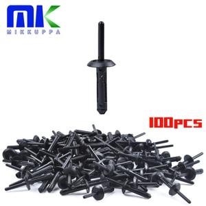 MIKKUPPA 100PCS Plastic Rivet Clip for Jeep Wrangler 07-15 Chrysler 300 99-10 Dodge Avenger 08-14 Nylon Fastener(China)