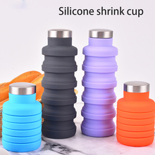 Collapsible Water Bottle Travel Outdoor Silicone Cup Creativ