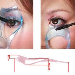 Three-dimensional crystal three in one eyelash card mascara buffer-type