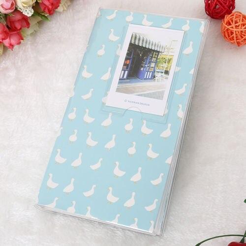 Горячая 84 кармана 1 шт. Мини пленка Instax Polaroid Альбом чехол для хранения фото модные домашние Семейные друзья сохранение памяти сувенир - Цвет: Duck