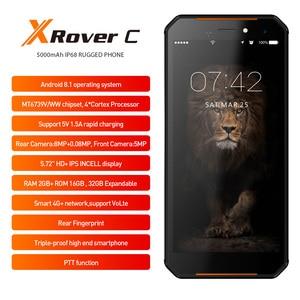 Image 3 - Leagoo teléfono inteligente XRover C, teléfono móvil con identificación facial 4G, pantalla IPS de 5,72 pulgadas, batería de 5000mAh, 2GB RAM, 16GB rom, cámara traseras dobles de 13,0mp, NFC, OTG