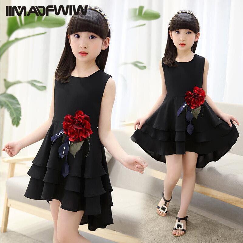 Kids Girls Dresses Summer 2017 New Korean Kids Children's  Princess Dress Summer Spring