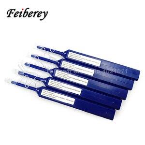 Image 5 - 5 قطعة واحدة انقر LC MU الألياف البصرية نظافة القلم مع تنظيف الملابس و غطاء غبار ل 1.25 مللي متر LC/MU موصل الألياف البصرية الأنظف