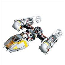 LEPIN 05040 1473Pcs Star – Y- War Attack wing Starfighter Model Building Kits Blocks Bricks Boy Toys Compatible LepinINGLY 10134