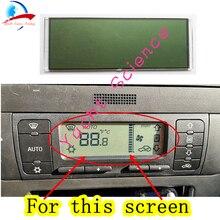 Monitor lcd para controle de clima, unidade automotiva acc, monitor de temperatura, ar condicionado com tela de informações para seat leon/toledo/cordova