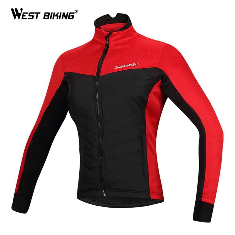 ФОТО WEST BIKING Winter Cycling Clothing Windproof Fleece Thermal Outdoor Sport Jacket Ropa Ciclismo MTB Bike Bicycle Cycling Jersey