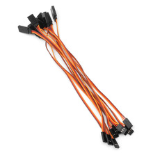 New 10Pcs 200mm Extension Servo Wire Lead Cable For RC Futaba JR 20cm Male to Female