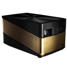 2017 actualización JmGOV8 nuevo hogar miniatura proyector inteligente Wifi Bluetooth 4 K proyector DLP de alta definición de cine en casa