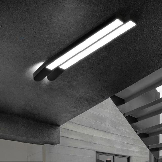 Simple personality office ceiling light long strip creative led simple personality office ceiling light long strip creative led modern aisle lighting bedroom living room lighting mozeypictures Gallery