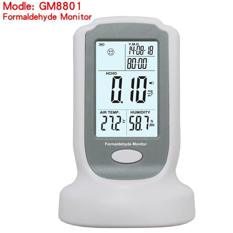 Sammlung Hier Wanptek Gm8801 Formaldehyd Detector Meter Hcho Air Qualität Prüfung Gas Analyzer Tester Mit High Sensitive 0-3 Mg/ M3 Messung Und Analyse Instrumente