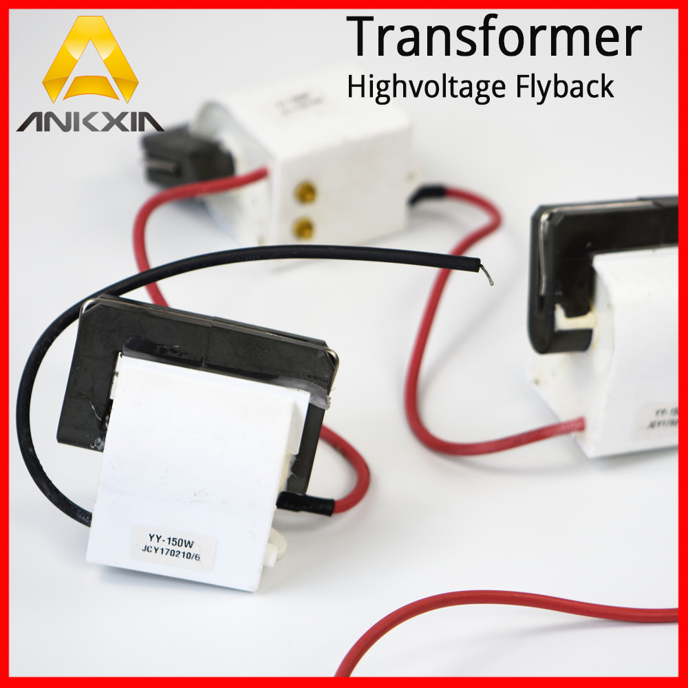 High Voltage Transformer flyback For 0-50W/0-100W/0-150W Co2 Laser Power Supply High-voltage Unit Co2