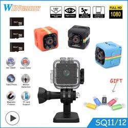 SQ11 SQ12 SQ10 Mini camera Waterproof degree wide-angle lens HD 1080P Wide Angle SQ 12 MINI Camcorder DVR SQ 11 Sport video cam