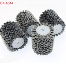 Abrasives-Wire-Brush Grinding Wheel Polishing Wooden 4pcs for 9741 Furniture 100--120--13mm