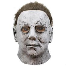 Top Grade 100% Latex Horror Movie Halloween Michael Myers Mask Adult Party Masquerade Cosplay Masks Full Head