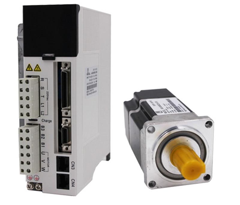 200 w 60mm 0.64Nm 3000 rpm AC Servo Moteur & drive kit avec 3 m câble 20Bit monophasé AC220V JMC 60JASM502230K-20B + JASD2002-20B