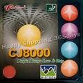 Настольный теннис Палио CJ8000 (BIOTECH) pips-в настольный теннис/пинг понга резиновый с губкой (H40-42) - фото