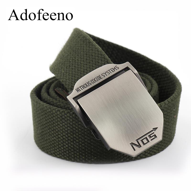 Adofeeno Tactical Belts for Men Series Military Canvas Belts Unisex Male Hip Belt Men's Ceinture Cinto Masculino